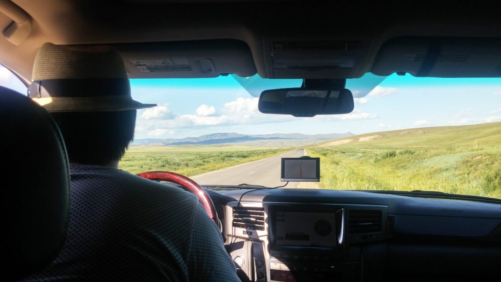 chauffeur mongolie