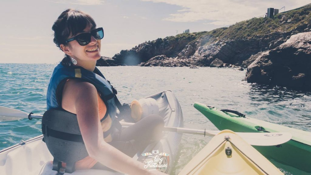 balade en kayak de mer à sète