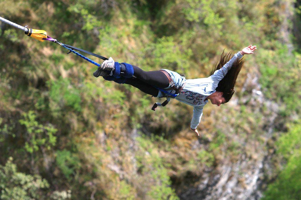 saut à l'élastique queenstown nouvelle zélande