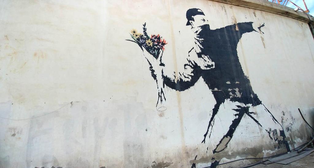 palestine banksy bethleem
